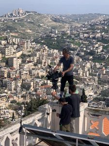crew film in israel