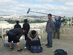 Shooting at the Mount of Olives