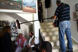Filming with PBS – The Pope's Visit to the Holy Land