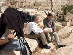 Exploring the new location of Jesus' trial with expert Shimon Gibson